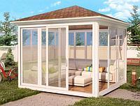 Утепление пола и стен беседок/садовых домиков теплоизоляционными материалами