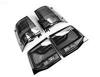 Задние фонари Land Cruiser 200 2016-21 Черный, фото 1