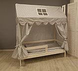 """Кроватка детская """"Лапландия"""" цвет натуральное дерево+ бортик 01-12341, фото 3"""