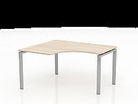 Письменный стол угловой  ТНУ314ТРЛ+ТНУ314КЛ-22, ТНУ316ТРЛ+ТНУ316КЛ-22, фото 1