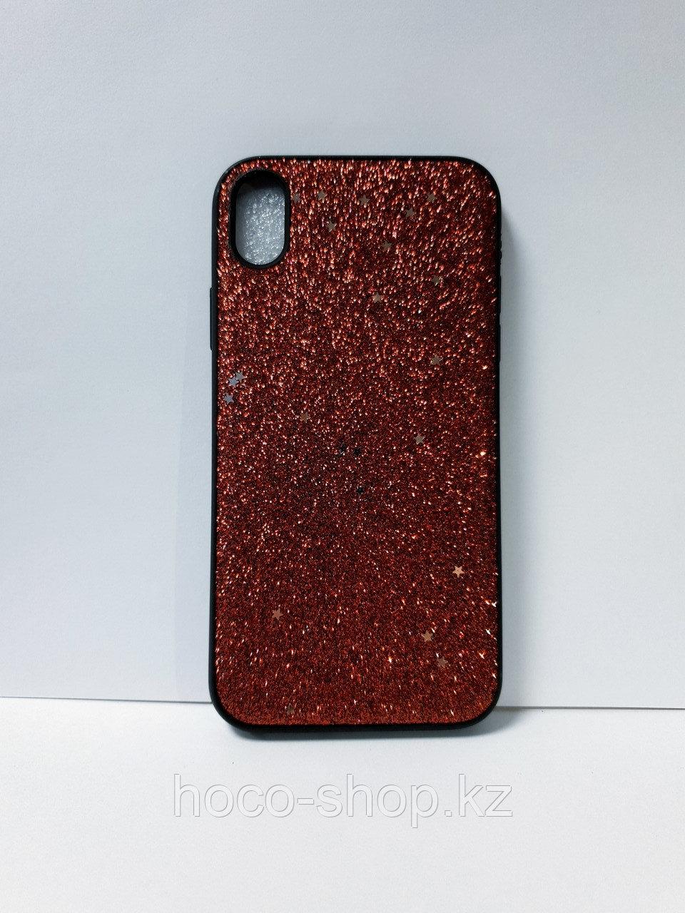 Чехол с блестками iPhone XR