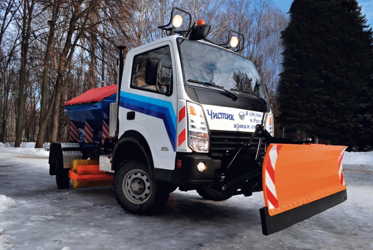 Дорожно-комбинированная машина УАЗ