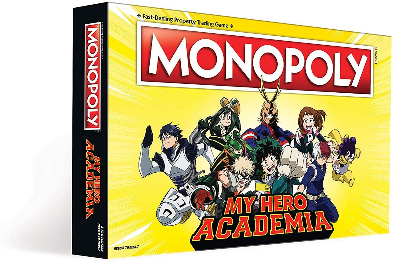 Монополия Моя геройская академия (англ. язык)