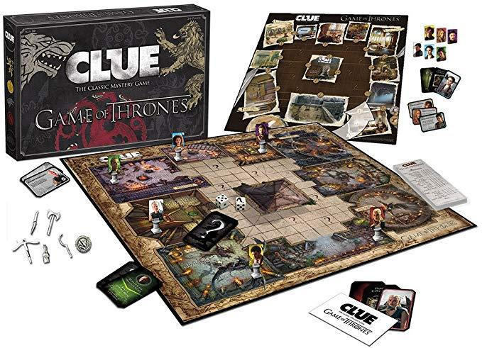 Clue Game of thrones на англ. яз