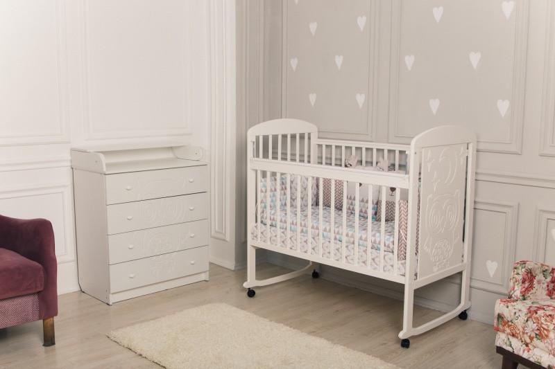 """Кровать детская Incanto """"Civetta"""", (белый)"""