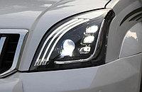 Передние фары в стиле Mercedes на Land Cruiser Prado 120 2003-09, фото 1