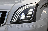 Передние фары в стиле Mercedes на Land Cruiser Prado 120 2003-09