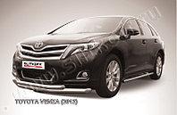 Защита переднего бампера d76+d57 двойная Toyota Venza (2013)