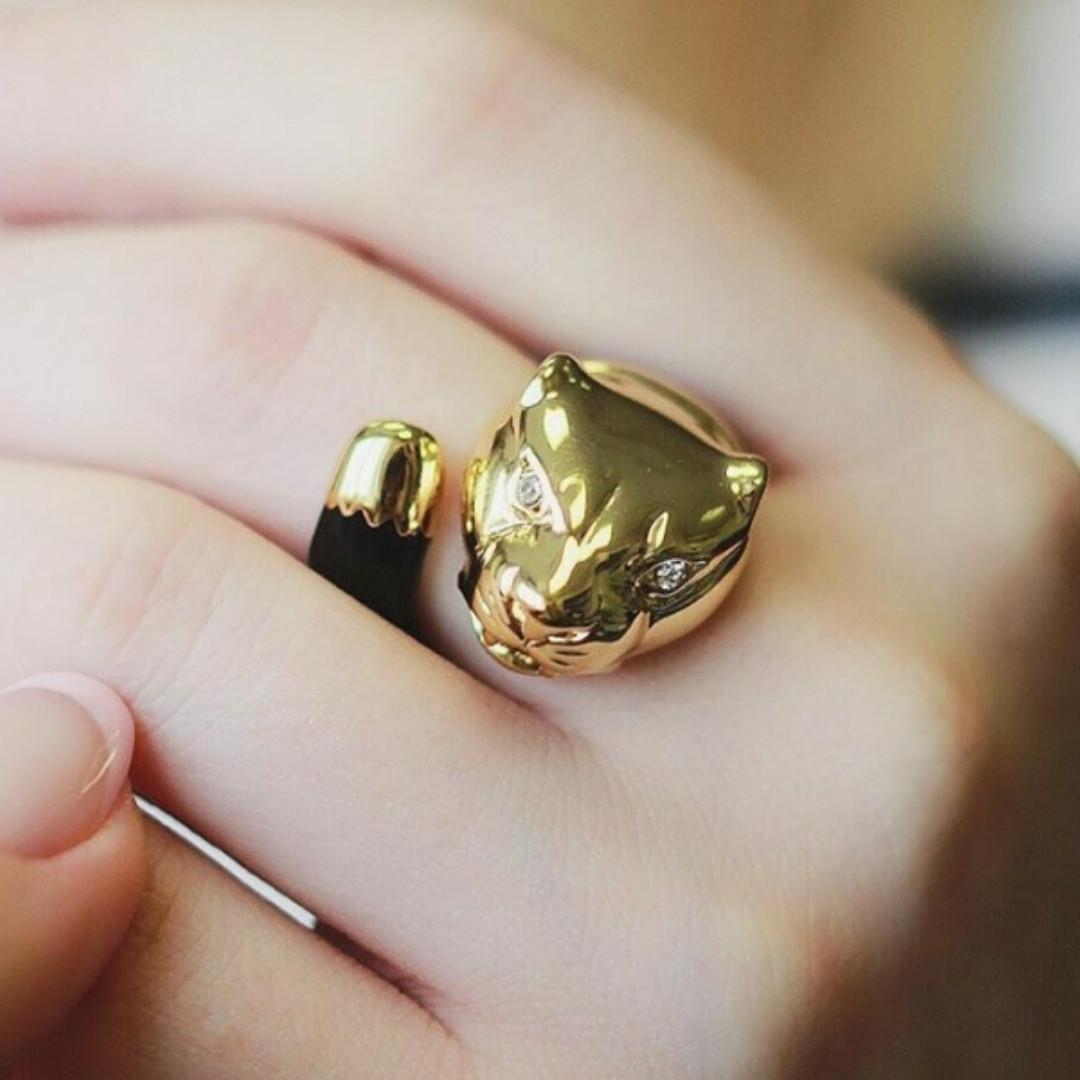 Эксклюзивное кольцо Пантера