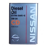 Моторное масло Nissan CD Extra Diesel Save X 5w30 4литра