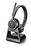 Беспроводная гарнитура Poly Plantronics Voyager 4220 Office, 2-way Base, MS Teams, USB-A (214003-05)