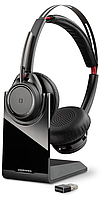 Bluetooth стерео гарнитура Poly Plantronics Voyager Focus UC, B825, USB-C (211709-01), фото 1