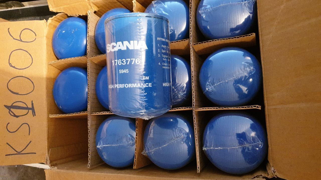 D93/H141(M24x1,5)  SCANIA 1763776 Топливный фильтр накручиваемый
