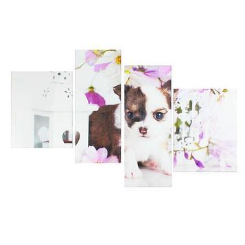 """Модульная картина на подрамнике """"Милый щенок"""""""