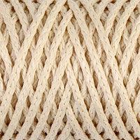 Шнур для вязания 'Классик' без сердечника 100 полиэфир ширина 4мм 100м (кремовый)