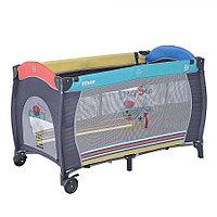 Манеж кровать Pituso Granada Пёсик P613-MIX01