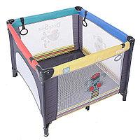 Кроватка манеж Pituso Aria Пёсик P618-MIX01
