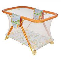 Детский манеж Globex Арена оранжевый