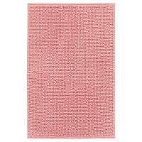 ТОФТБУ Коврик для ванной, розовый 50*80