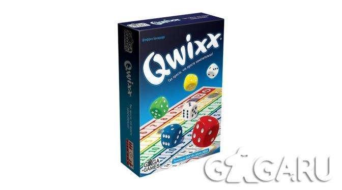 Настольная игра Квикс (Qwixx)