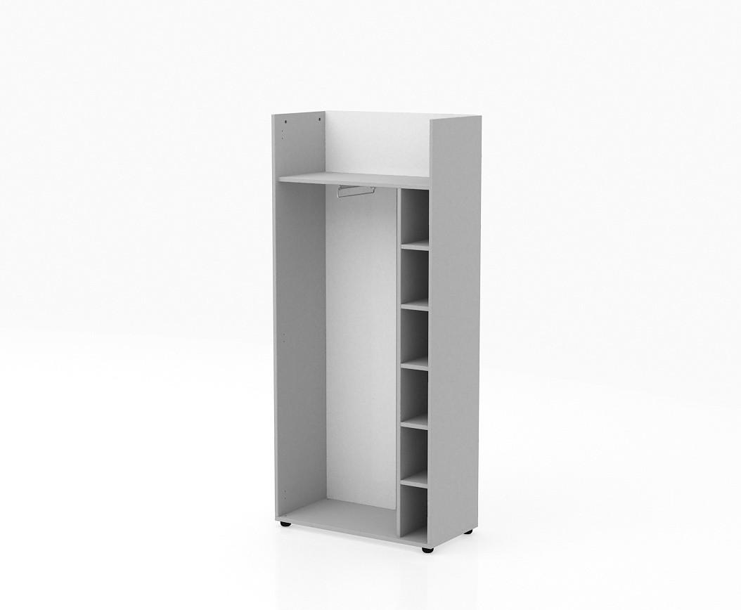 Шкаф гардероб ТН750/2+ТНТ80/2+ТНД52, ТН752/2+ТНТ80Г/2+ТНД52