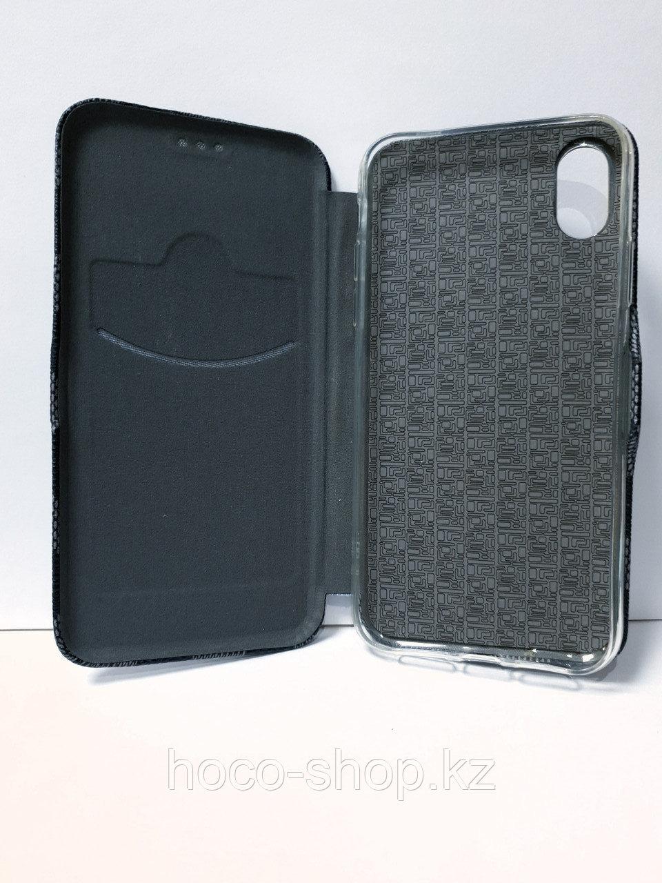 Кожаный чехол-книжка Louis Vuitton iPhone XR - фото 2