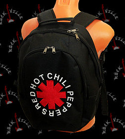 """Рюкзак с группой """"Red hot chili peppers"""""""