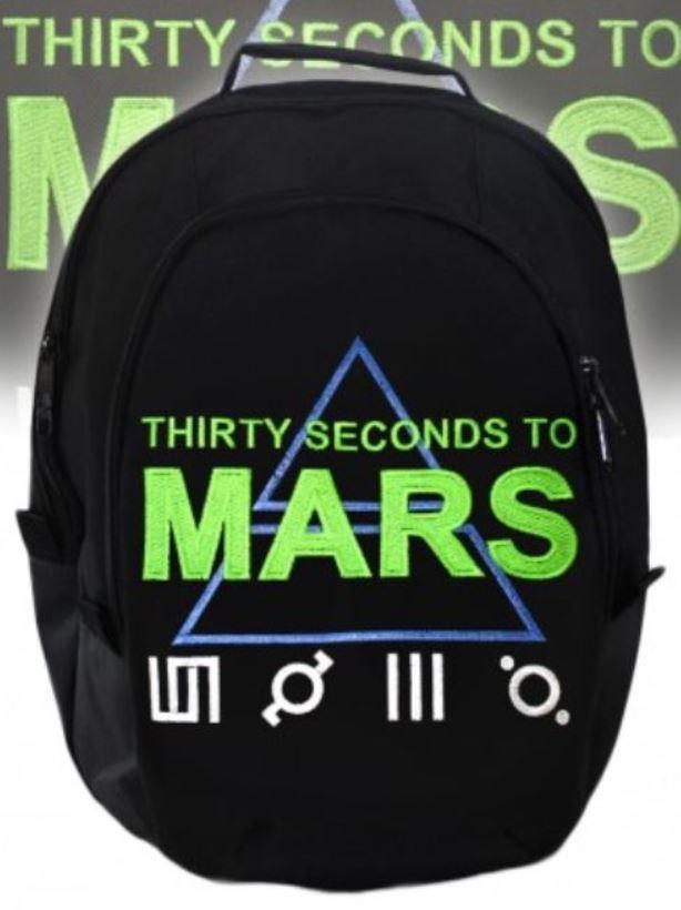"""Рюкзак с группой """"30 seconds to mars"""""""