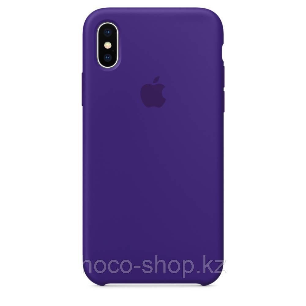 Оригинальный силиконовый чехол iPhone XR