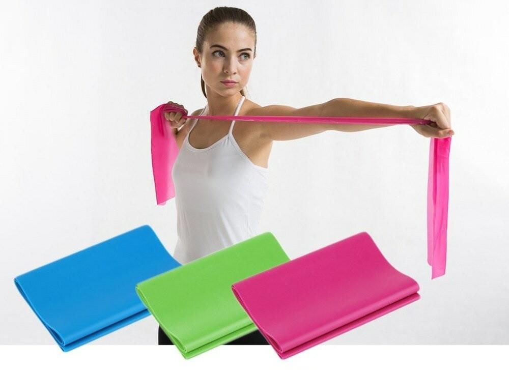 Ленты для йоги набор Resistance Bands 3 Levels