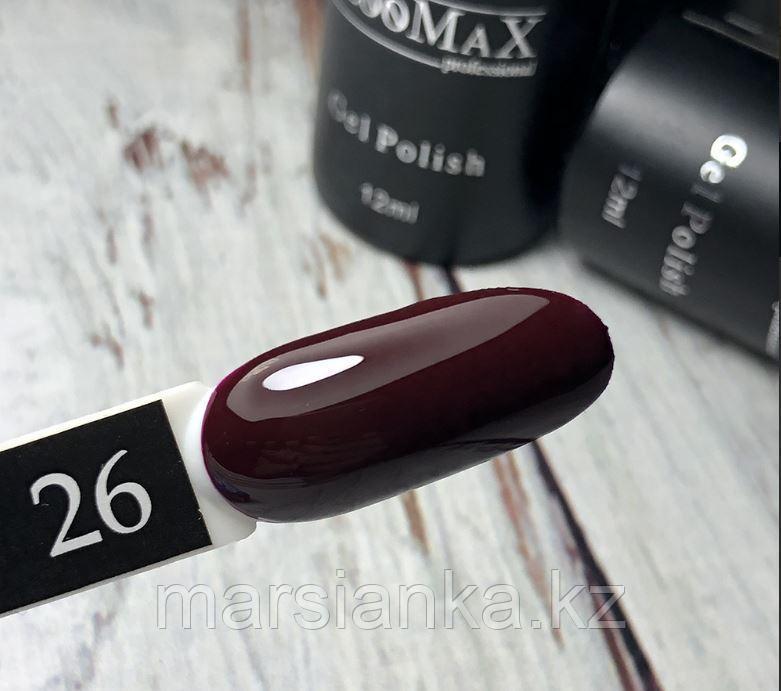 Гель лак BlooMax №26 с ароматом клубники, 12 мл