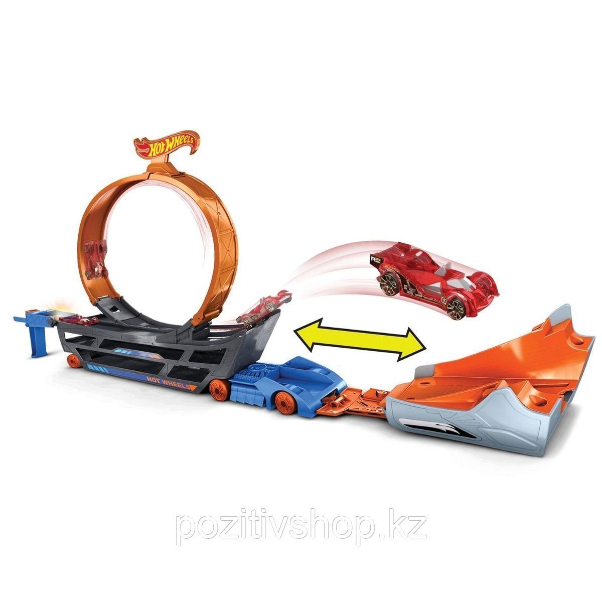 Автовоз-трансформер Hot Wheels Basic - фото 2