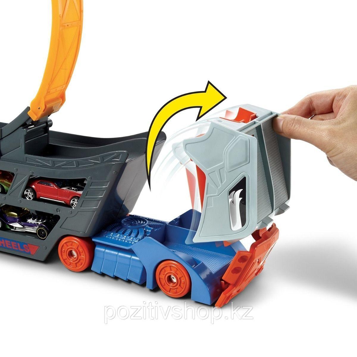 Автовоз-трансформер Hot Wheels Basic - фото 3