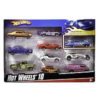 Набор из 10 машинок Hot Wheels Basic