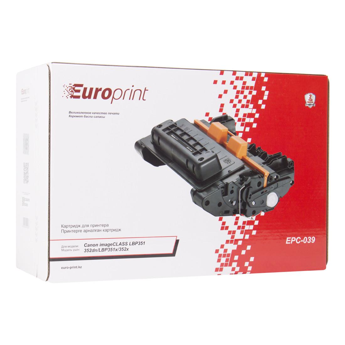 Картридж Europrint EPC-039 Black (11000 страниц)
