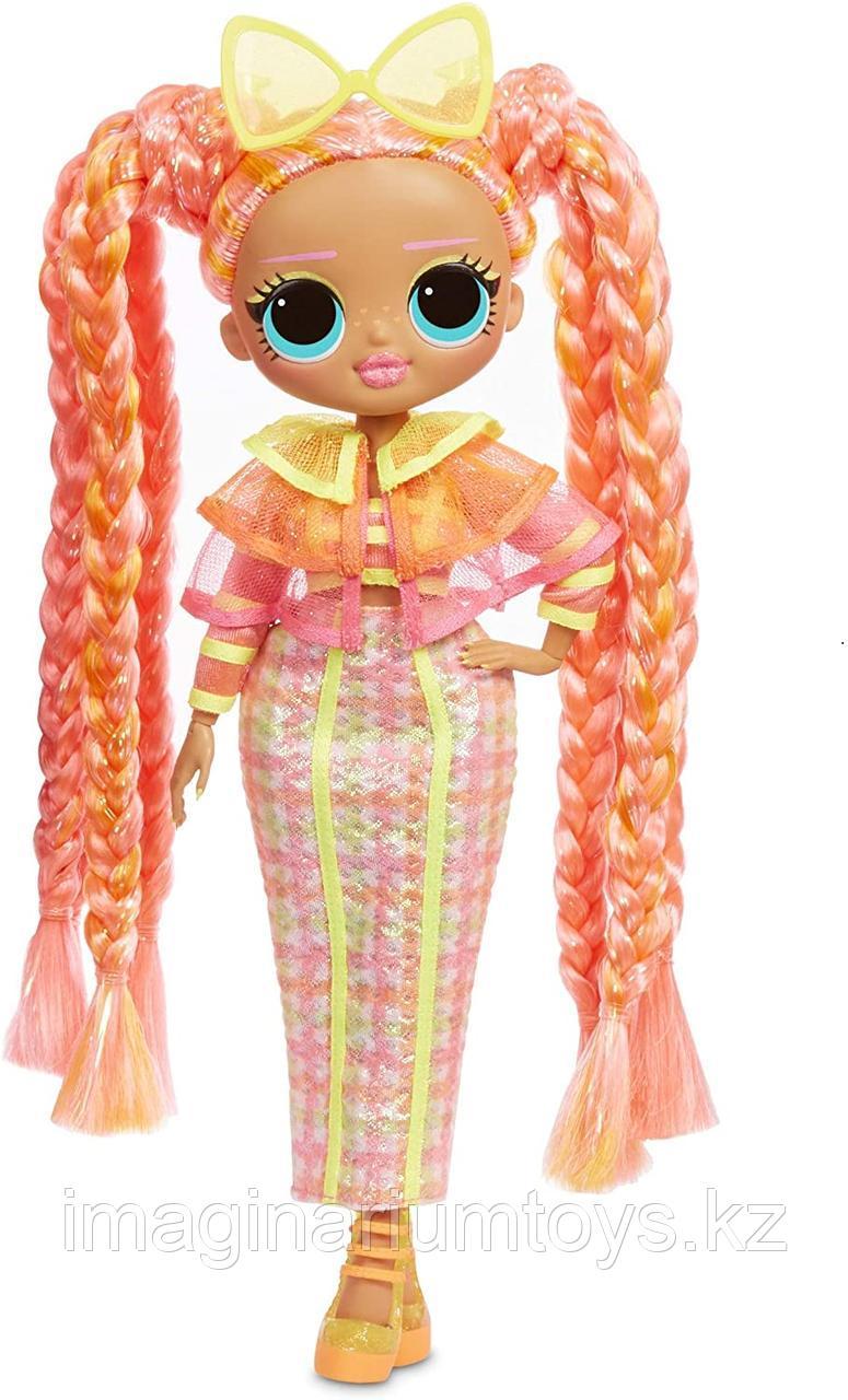 LOL OMG Lights кукла ЛОЛ ОМГ Лайтс светящаяся Неон Даззл - фото 3