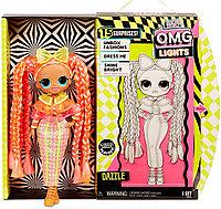 LOL OMG Lights кукла ЛОЛ ОМГ Лайтс светящаяся Неон Даззл