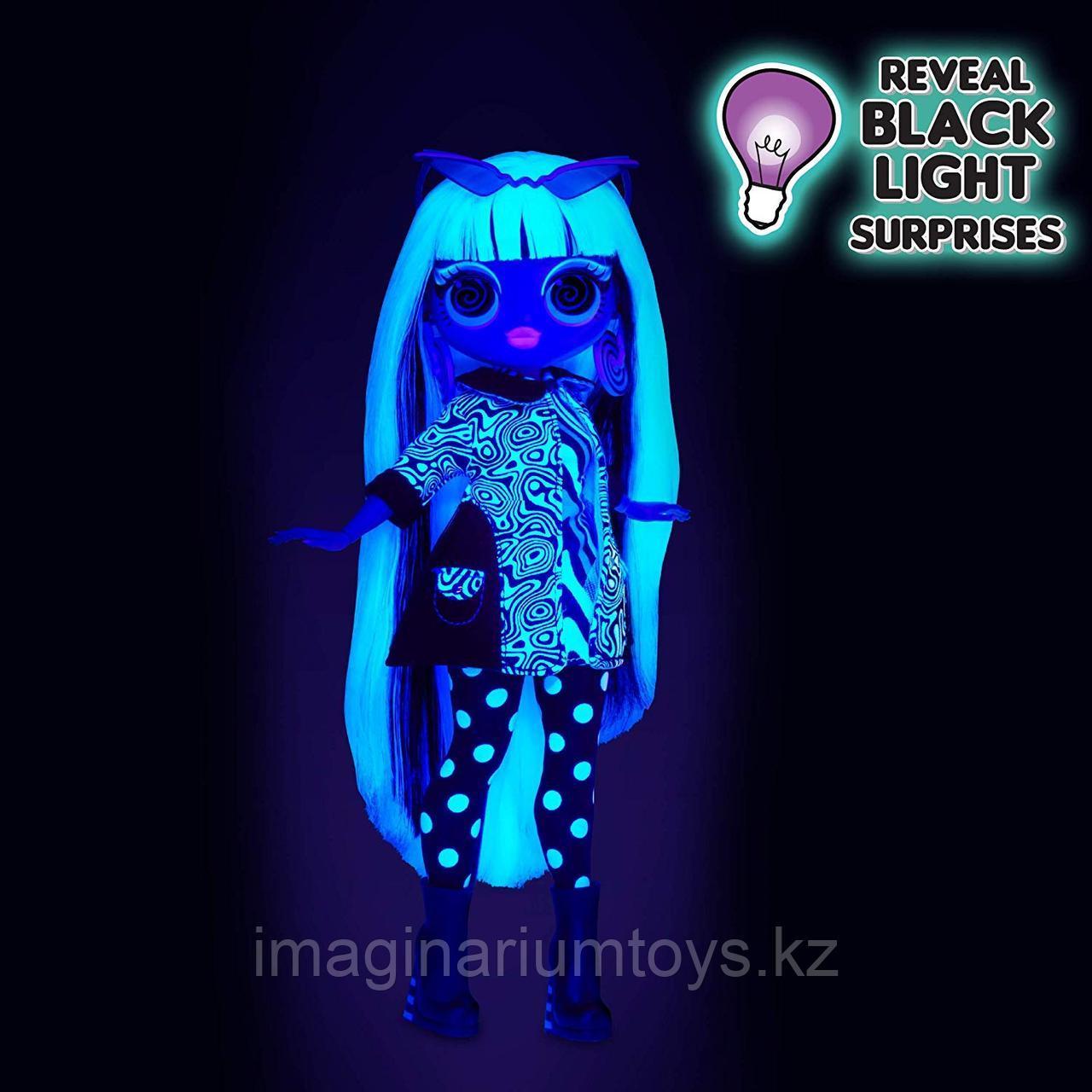 LOL OMG Lights кукла ЛОЛ ОМГ Лайтс светящаяся Неон Груви Бэби - фото 5
