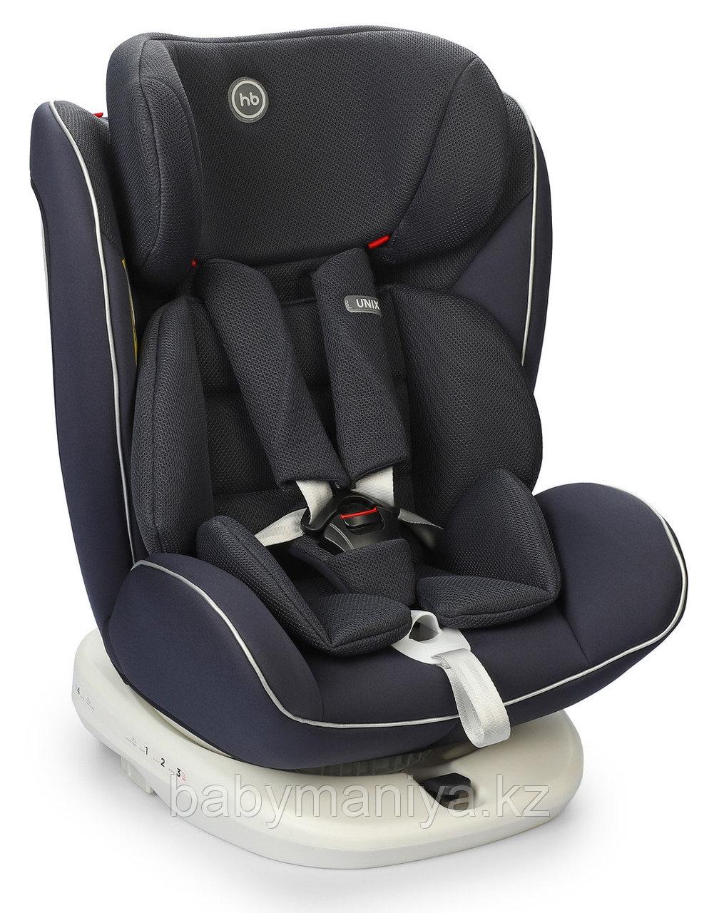Автокресло Happy Baby 0-36 кг Unix Navy Blue