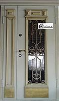 Дверь с ковкой в Алматы