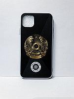 Кожаный чехол Казахстан iPhone 11 Pro Max