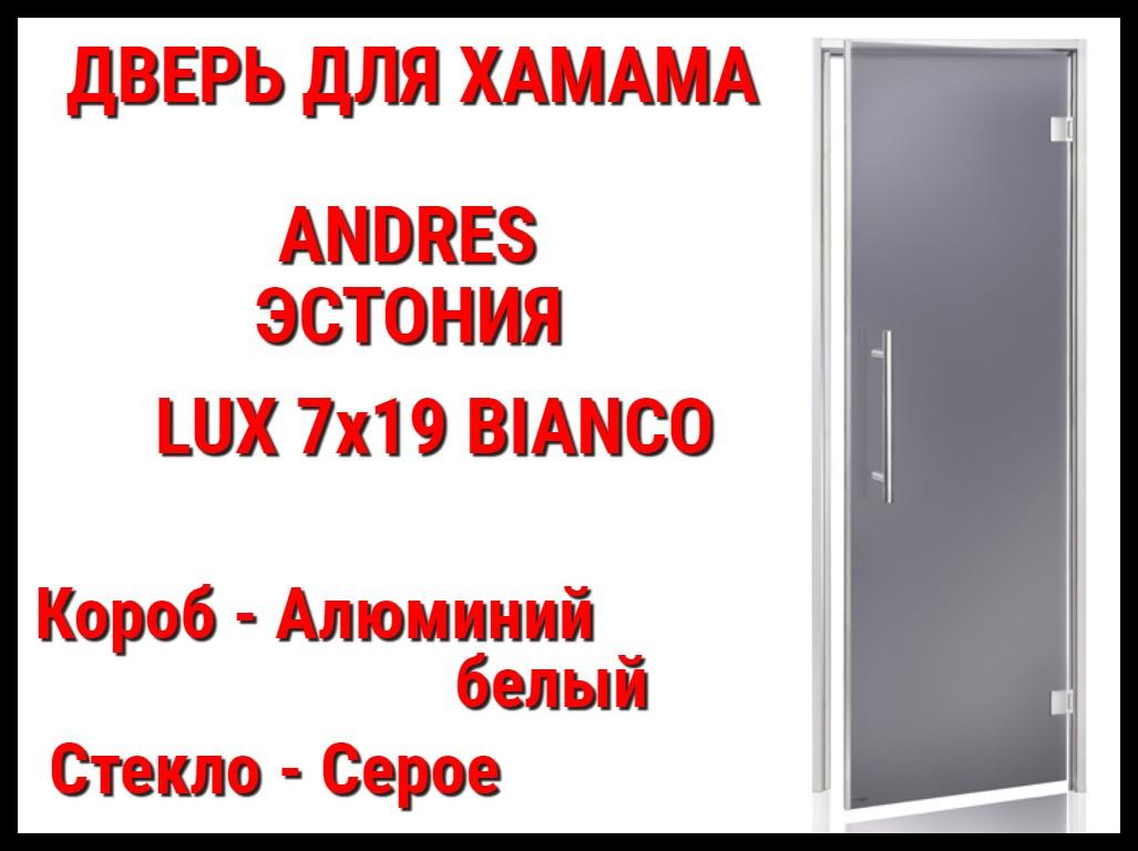Дверь для турецкой бани (хамам) Andres Lux Bianco