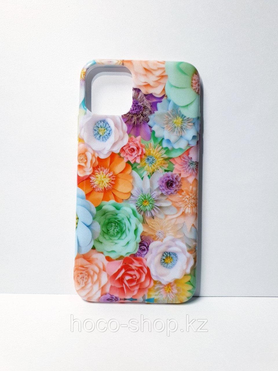 Чехол  гелевый цветной для iPhone 11 Pro Max