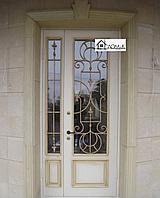 Дверь белая со стеклом на заказ в Алматы