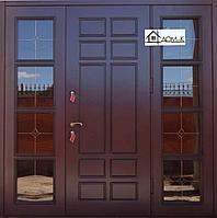 Дверь со стеклопакетом на заказ в Алматы
