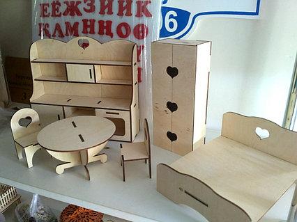 Кукольная ЭКО мебель (6 предметов)