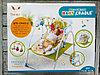 Детский шезлонг Baby cradle с пультом(вибро,мелодия от игрушки)3 положения, фото 2