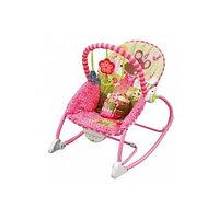 Шезлонг Sani Розовый Цветочек, фото 1