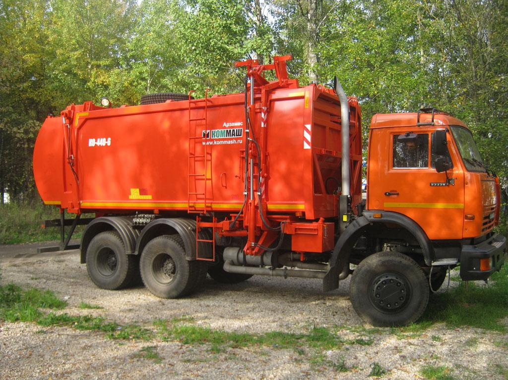 Мусоровоз КО-440-6 Камаз