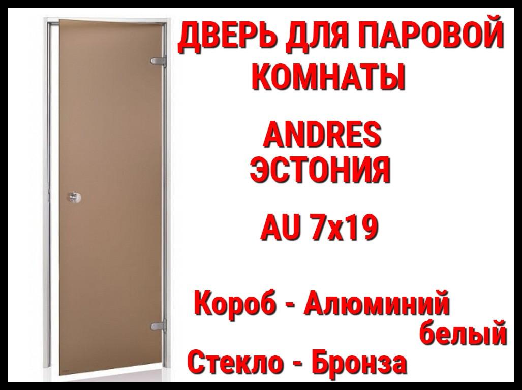 Дверь для паровой комнаты Andres Au Wh